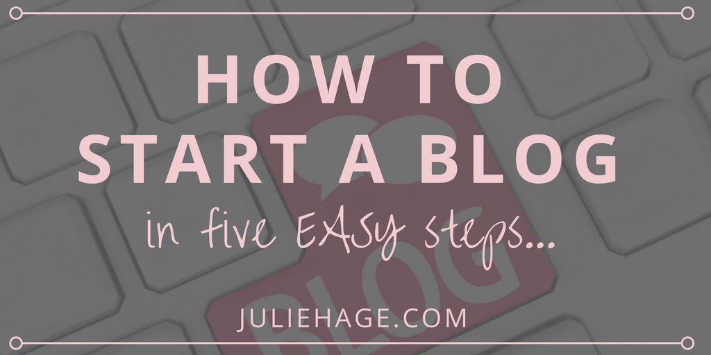 How to Start a Blog: The Super-Easy 5-Step Beginner Guide | Dream of becoming a blogger? Starting a blog is super-easy (yes, even for non-techies). Click through to learn how to begin your own WordPress blog today!