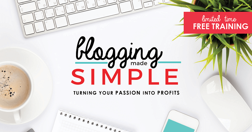 2018 Blogging Made Simple FREE video series